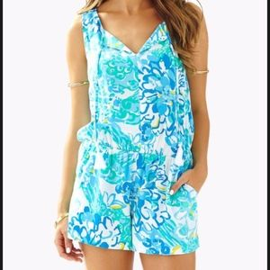 Lilly Pulitzer Romper Size S
